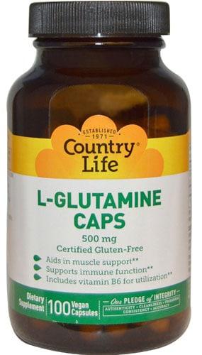 Глютамин в капсулах