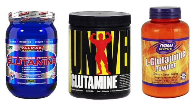 Три добавки с глютамином