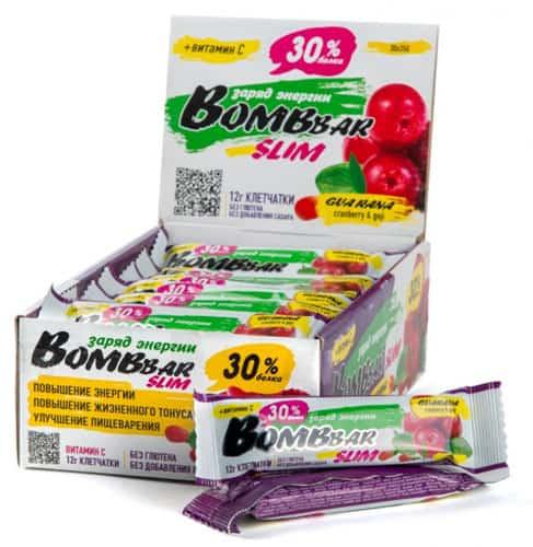 Bombbar со вкусом ягод годжи