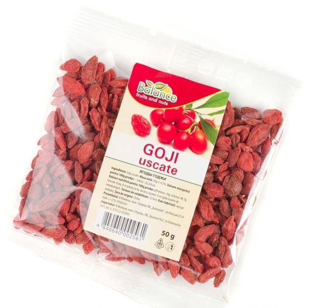 Годжи ягоды в пакете