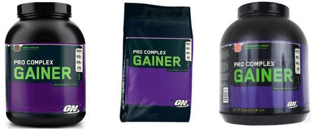 Вкусы Pro Complex Gainer