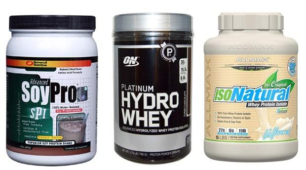 Три добавки с соевым протеином