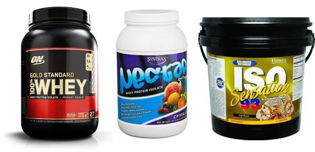Лучшие изоляты сывороточного протеина