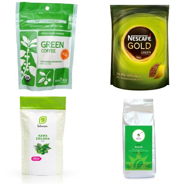 Нескафе и другие марки зеленого кофе