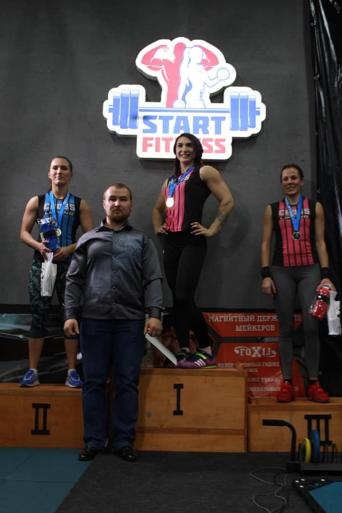 Crosslifting GRAND SERIES 10 женщины-призёры