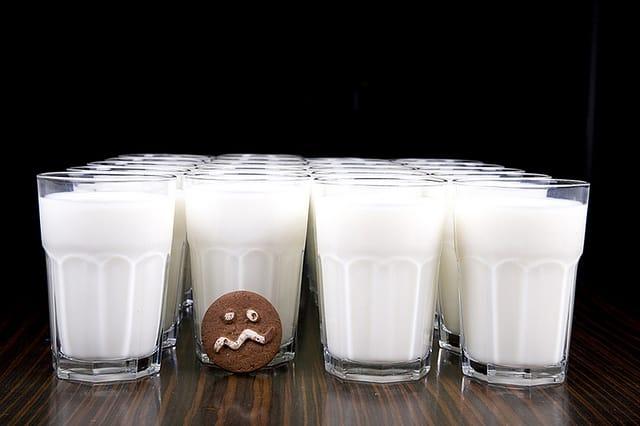 Правда ли что от молочки заливает