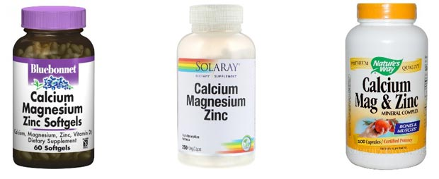 Разные витамины кальций, магний, цинк