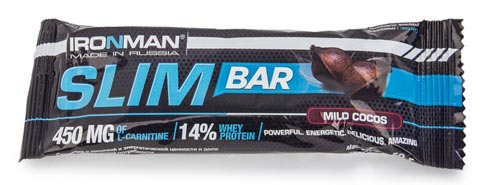 IRONMAN Slim Bar Кокос