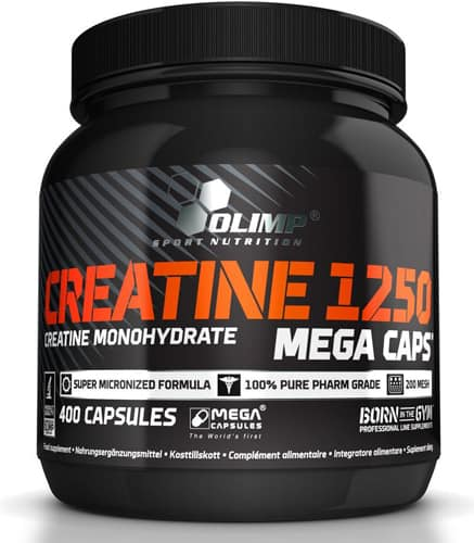 Упаковка Creatine 1250 Mega Caps 400 штук