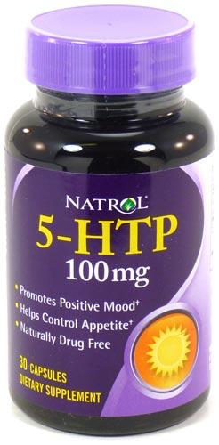5-HTP Natrol 100 мг
