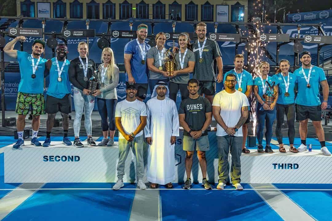 Dubai CrossFit Championship Athletes 2018