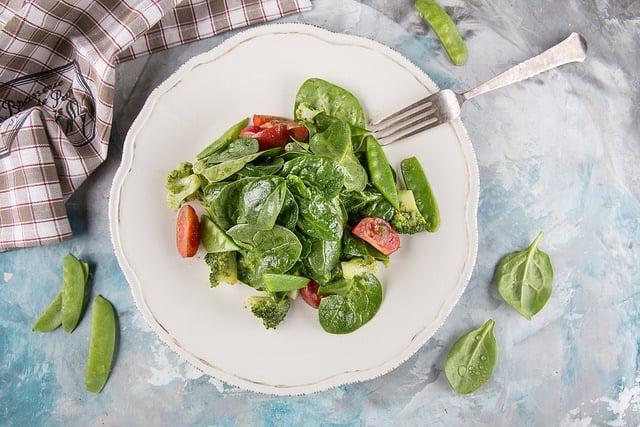 Шпинат продукт с отрицательной калорийностью