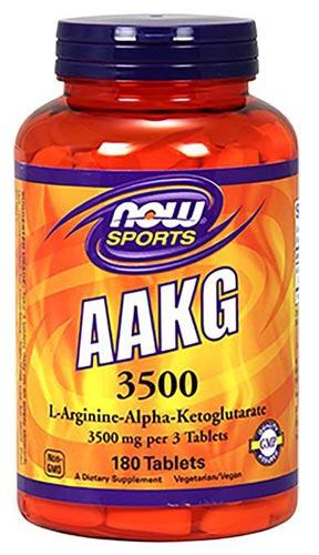 L-аргинин Aakg 3500 – 180 таблеток