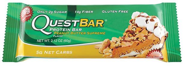Questbar со вкусом арахиса