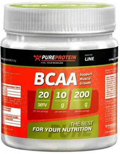 200 грамм бцаа PureProtein