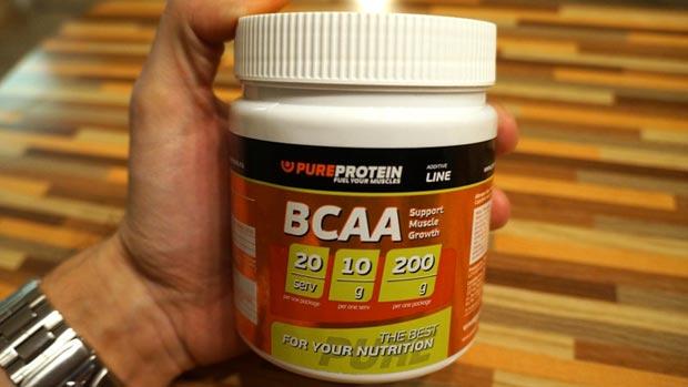 200 граммов бцаа PureProtein