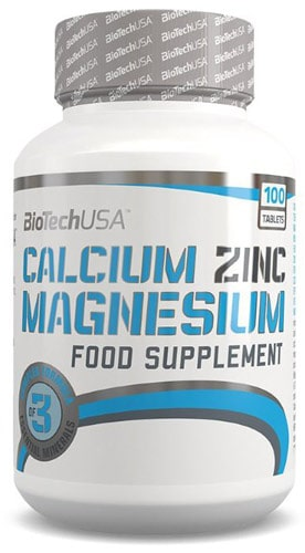 Упаковка Biotech calcium zink magnezium
