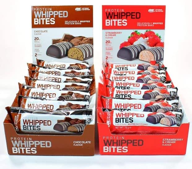 Whipped bites со вкусом шоколада и клубники
