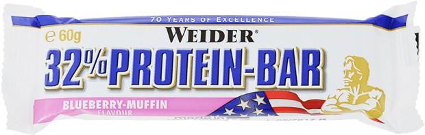 Weider 32% Protein Bar со вкусом черники