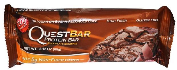 Questbar со вкусом брауни