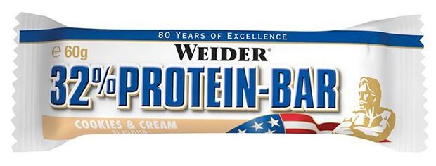 Weider 32% Protein Bar со вкусом крема и печенья