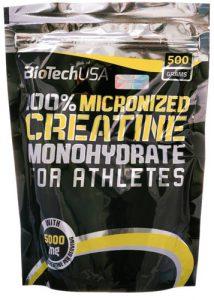 Creatine от Biotech 500 грамм в пакете