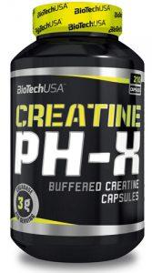 Упаковка Creatine pH-X 210 капсул