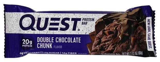 Questbar со вкусом двойного шоколада