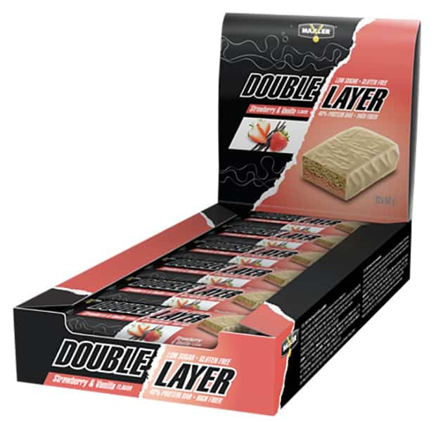 Double Layer Bar со вкусом клубники