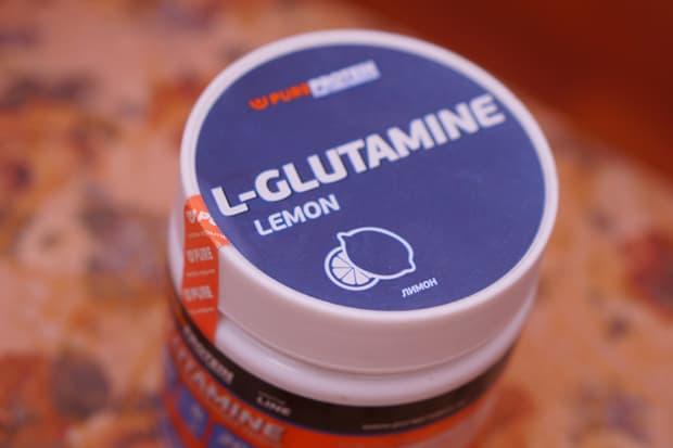 Глютамин со вкусом лимона