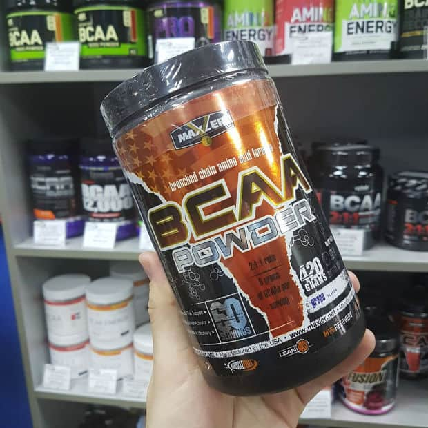 BCAA Maxler Powder виноград