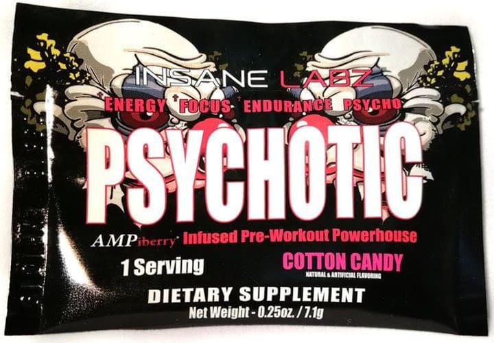 Psychotic со вкусом ваты 7 грамм