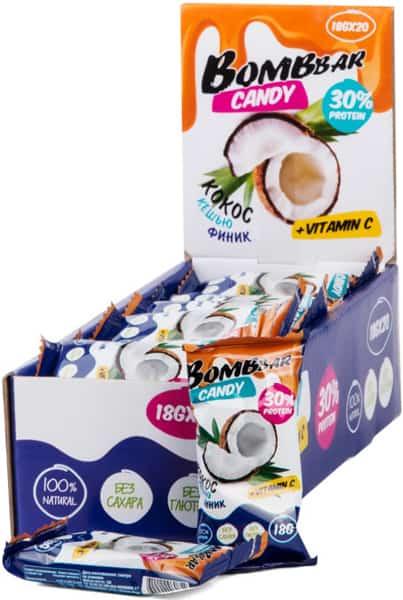 Конфеты Bombbar кокос