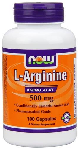 L-аргинин – 100 капсул