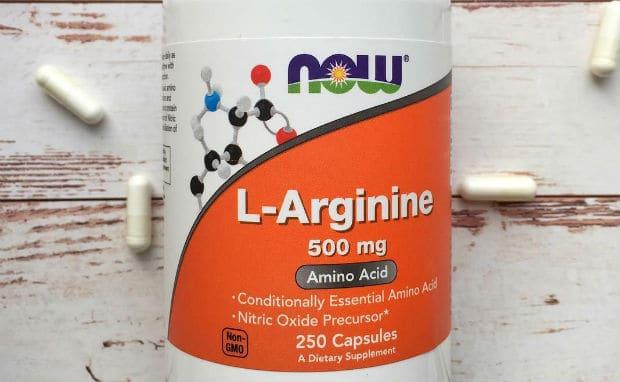 L-аргинин NOW