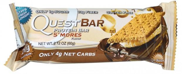 Questbar со вкусом маршмеллоу и крекера