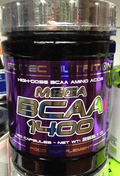 Банка BCAA Scitec Nutrition Mega 1400