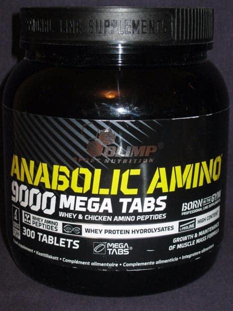 Баночка Anabolic Amino 9000