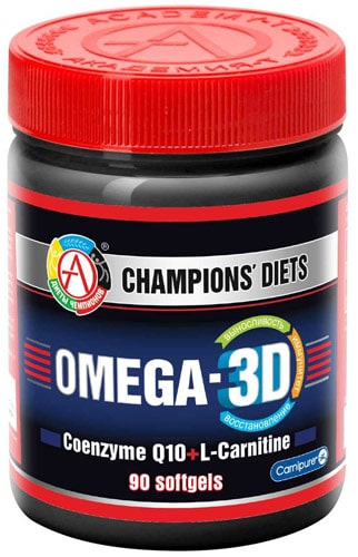 omega 3d в упаковке из 90 капсул