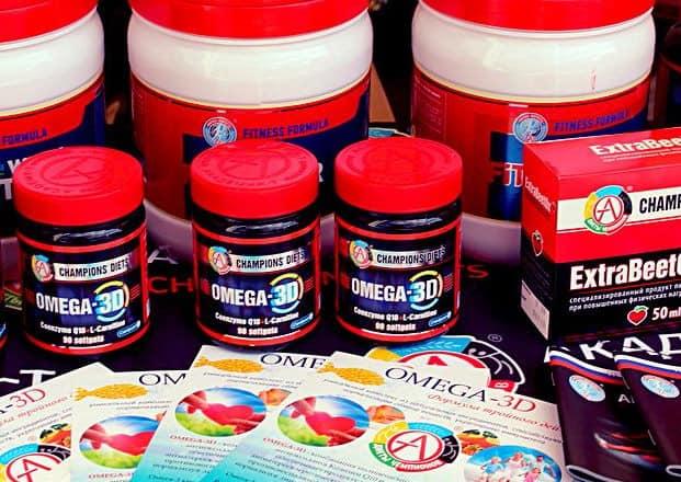 Флайеры и упаковки omega 3d