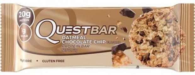 Questbar со вкусом печенья овсяного и шоколада
