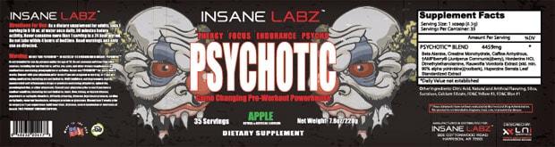 Psychotic логотип