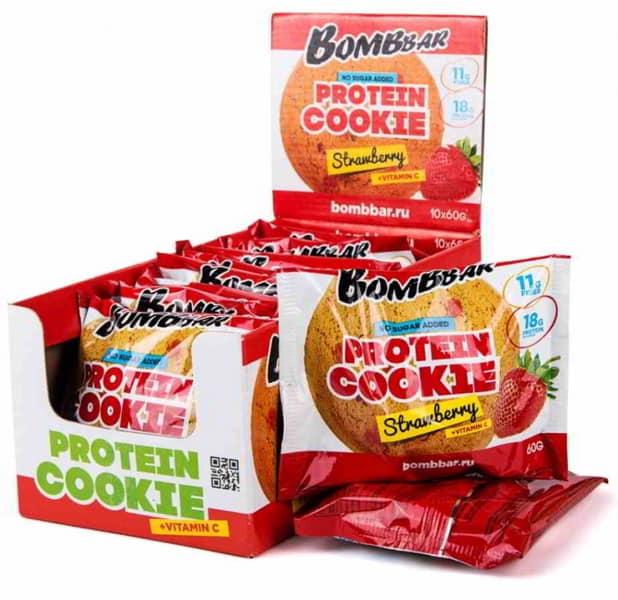 Бомббар печенье со вкусом клубники