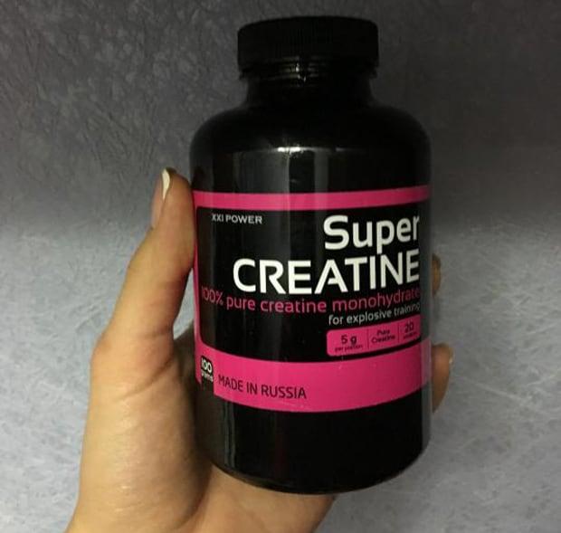 Super Creatine в руке