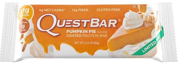 Questbar со вкусом тыквенного пирога