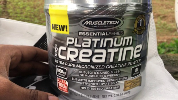 Креатин MuscleTech Platinum упаковка 400 грамм