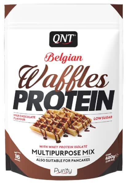 QNT Waffles с бельгийским шоколадом