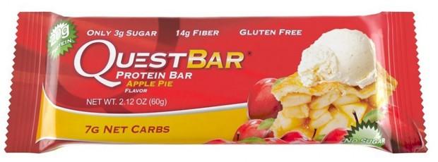 Questbar со вкусом яблока