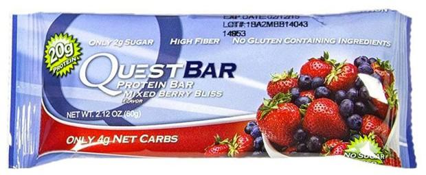 Questbar со вкусом ягод