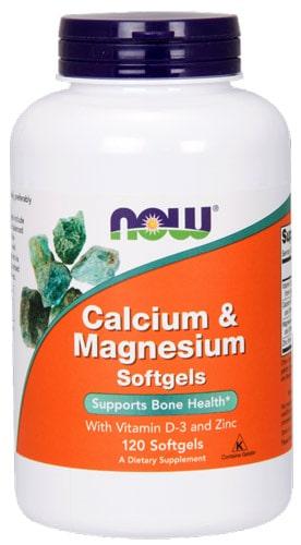 Кальций и магний 120 капсул